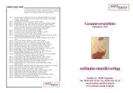 Katalog 2012.indd - ostinato-musikverlag