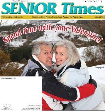 February 2013 - Southwestern Pennsylvania Area Agency on Aging ...