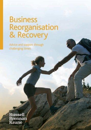 Corporate Recovery Brochure - Russell Brennan Keane
