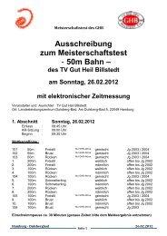 Ausschreibung zum Meisterschaftstest - Hh-swim-info.de