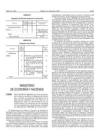 Real Decreto 1684/2007 - BOE.es