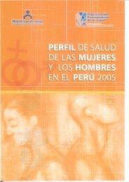 Perfil de Salud Mujeres y Hombres-ULTIMO2.pmd - Bvs.minsa.gob.pe