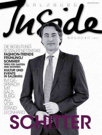 im gespräch - Salzburg Inside - Das Magazin