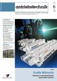 Skalierbare Leistungselektronik spart Kosten und Platz - Semikron