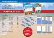 Download unserer Preisliste für die Ferienmagazine 2014