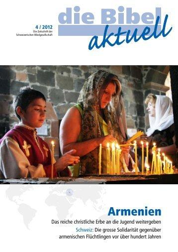 Armenien - Schweizerische Bibelgesellschaft