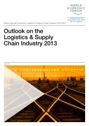 Outlook on the Logistics & Supply Chain Industry 2013 - World ...