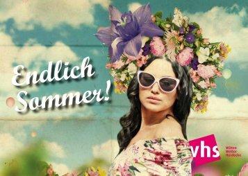 vhs Gesundheit - Die VHS Witten | Wetter