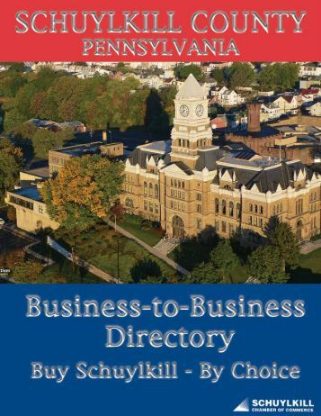 2013 Business to Business Directory - Schuylkill Chamber of ...