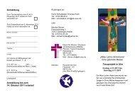 Misa Latino Americana - Dienst für Mission, Ökumene und ...