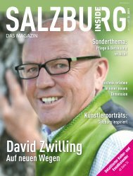 Ausgabe 3 - Salzburg Inside - Das Magazin