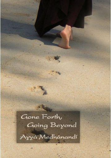 Gone Forth, Going Beyond - Bouddhisme au féminin - Free