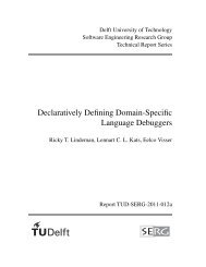 Declaratively Defining Domain-Specific Language Debuggers - swerl