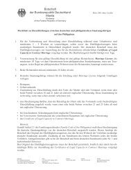 Botschaft der Bundesrepublik Deutschland Manila - Philippines ...