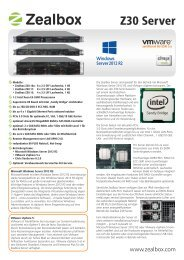 Datenblatt Zealbox Z30-Serie (PDF)