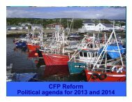 CFP Reform Political agenda for 2013 and 2014 - North Western ...