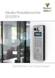 Händler-Produktbroschüre 2013/2014 - Merk Sicherheitstechnik