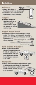 Guide de charge/remorquage Guide de charge ... - Toyota Canada - Page 5