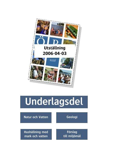 Underlagsdel - Vänersborgs kommun