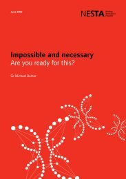 Impossible and Necessary: Are You Ready for this? - Nesta