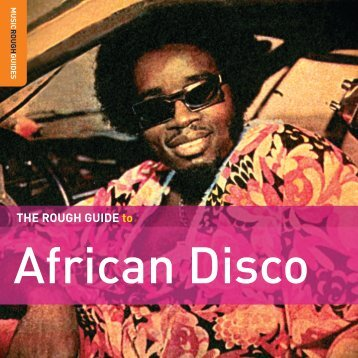 African Disco booklet - WRUV