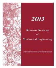 Program - Mechanical Engineering - University of Arkansas