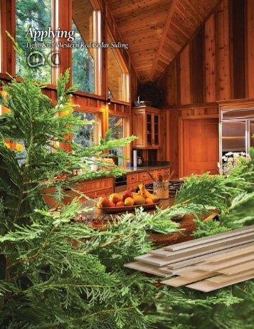 Installing - Columbia Cedar