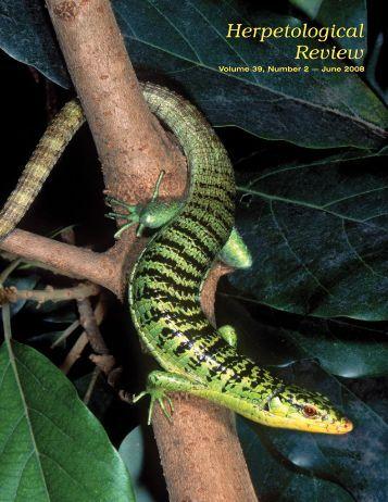 Herpetological Review Herpetological Review