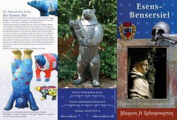 Esens- Bensersiel - Esens - Museen und Sehenswertes