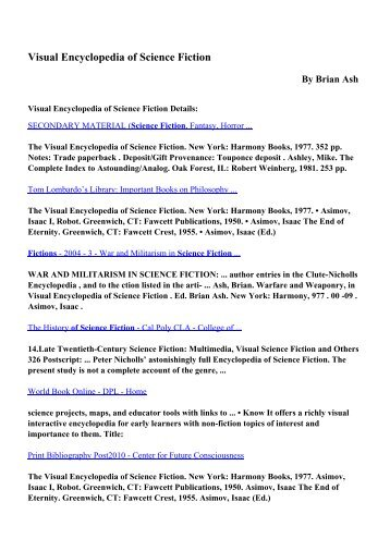 free pdf ebooks science fiction