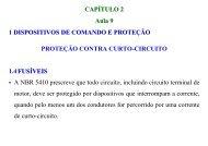 CAPÍTULO 2 Aula 9 1 DISPOSITIVOS DE COMANDO E PROTEÇÃO ...