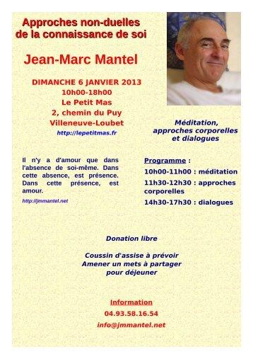 Jean-Marc Mantel - Le Petit Mas