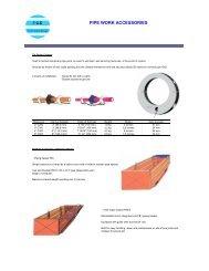 Pipe Work Accessories - FCE