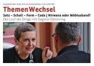 ThemenWechsel ThemenWe - Erfurter Bildungskatalog