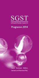 Programm 2014 - SGST