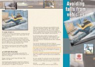 INDG395 - Avoiding falls from vehicles - Crown Training Academy