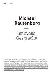 Interview: Michael Rautenberg – Sinnvolle Gespräche