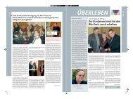Überleben 11/2007 - Bundesverband Information und Beratung für ...