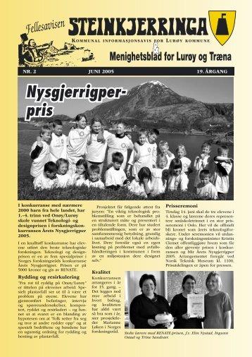 Nysgjerrigper- pris - Lurøy bibliotek