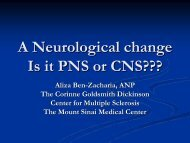 A Neurological change Is it PNS or CNS??? - Azati