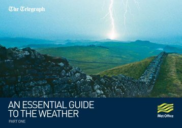 Guide to the weather part 1