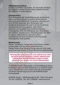 Anleitung für Tausch der Dichtungen Auslaufventil - KOMTRA GmbH - Page 2