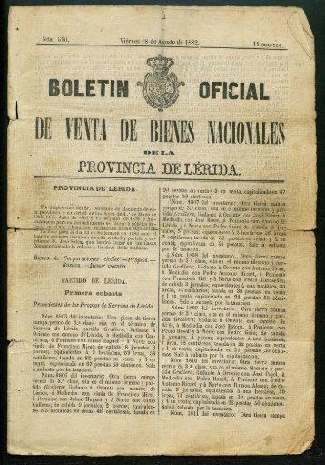PROVINCIA DELERIDA.. - Sol-Torres