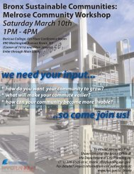 we need your input... ..so come join us! - Sustainable NYCT