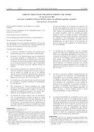 DIRECTIVA 2003/17/CE DEL PARLAMENTO EUROPEO ... - EUR-Lex