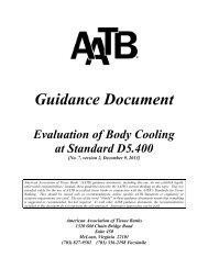 Guidance Document, No. 7 Version 2 - American Association of ...