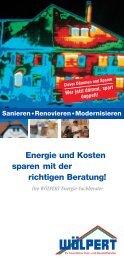 Prospekt Energieberatung (PDF) - Wölpert