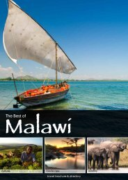 The Best of - Malawi Tourism