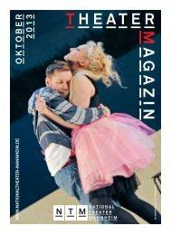 THEATER M A GAZIN - Nationaltheater Mannheim