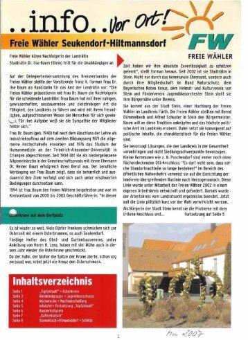 Post Agentur - Freie Wähler Landkreis Fürth